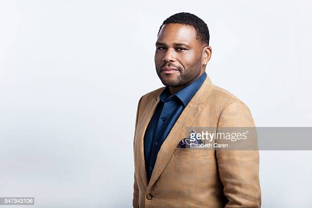 Actor Anthony Anderson is photographed for The Wrap on June 13 2016 in Los Angeles California