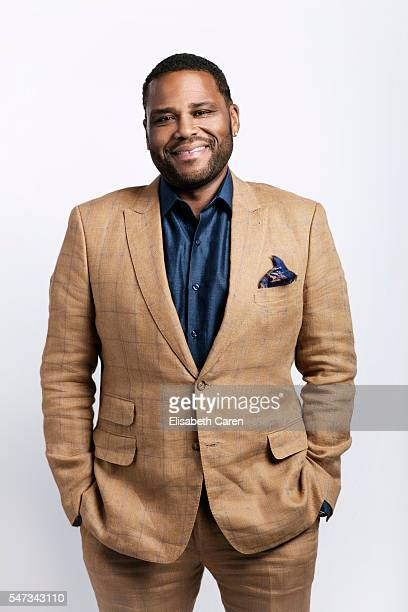 Actor Anthony Anderson is photographed for The Wrap on June 13 2016 in Los Angeles California PUBLISHED IMAGE