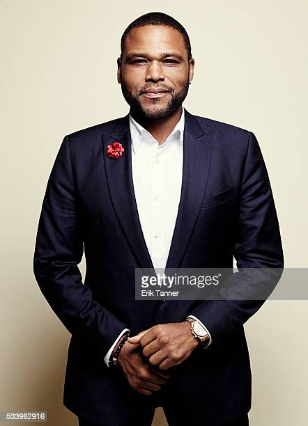 Actor Anthony Anderson poses for a portrait at the 75th Annual Peabody Awards Ceremony at Cipriani Wall Street on May 21 2016 in New York City