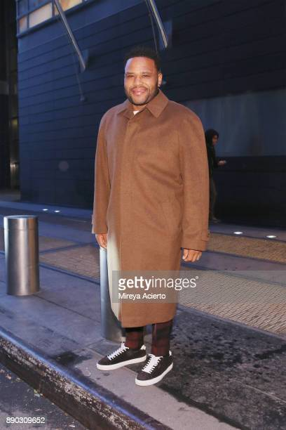Actor Anthony Anderson seen on December 11 2017 in New York City