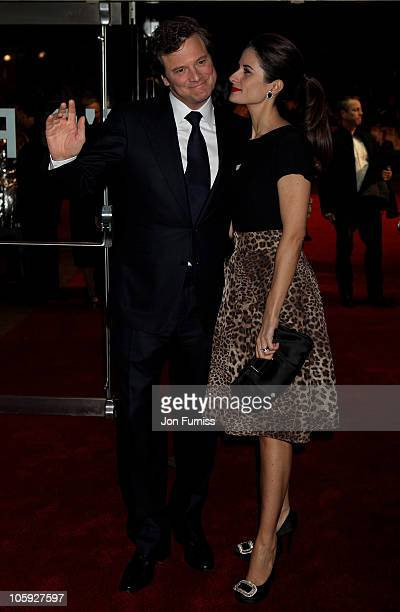 Actor Anthony Andrews arrives for American Express Gala Screening of 'The King's Speech' during the 54th BFI London Film Festival at Odeon Leicester...