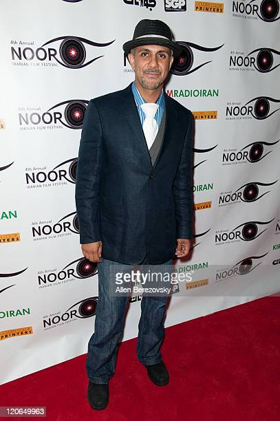 Actor Anthony Azizi arrives at the 4th Annual Noor Iranian Film Festival at the James Bridges Theater at Melnitz Hall on the UCLA campus on August 7...
