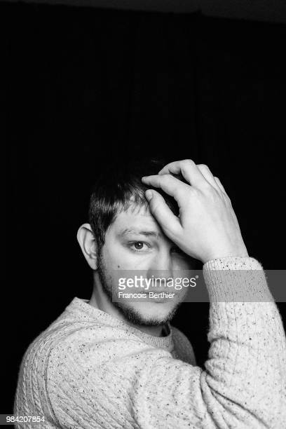 Actor Anthony Bajon is photographed for Self Assignment on February 2018 in Paris France