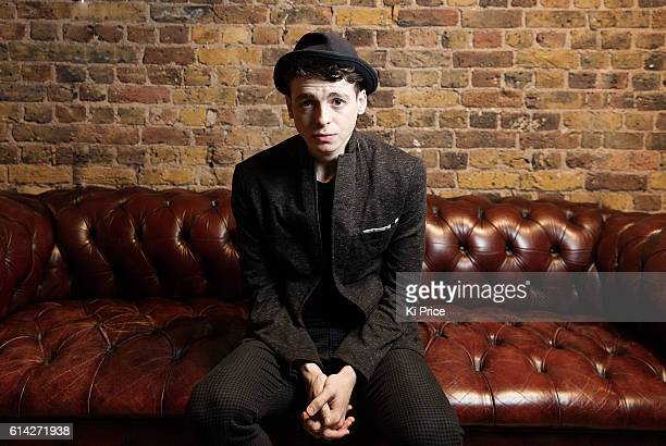 Actor Anthony Boyle is photographed for the Times on August 23 2016 in London England