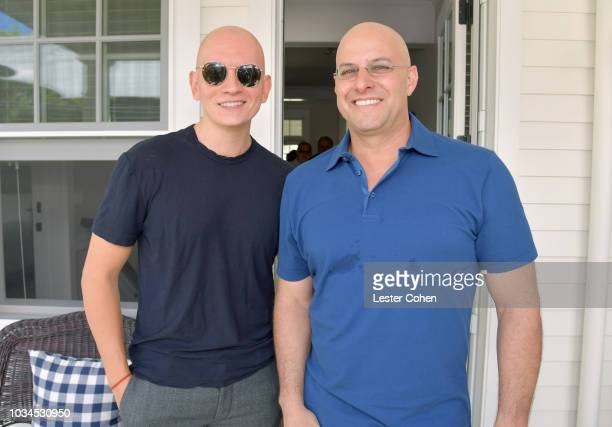 Actor Anthony Carrigan and ICM Partners' Chris Silbermann attend the ICM Partners PreEmmy Brunch 2018 on September 16 2018 in Los Angeles California