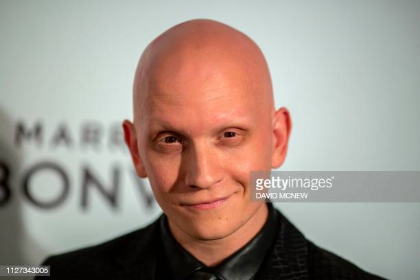 US actor Anthony Carrigan arrives to attend the Elton John AIDS Foundation Academy Awards Viewing Party in West Hollywood California on February 24...