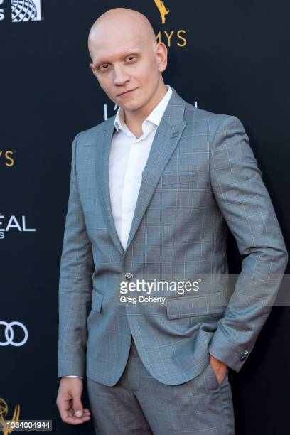 Actor Anthony Carrigan attends the Television Academy Honors Emmy Nominated Performers Reception at Wallis Annenberg Center for the Performing Arts...