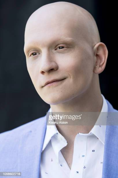 Actor Anthony Carrigan is photographed for The Hollywood Reporter on April 17 2018 in Los Angeles California
