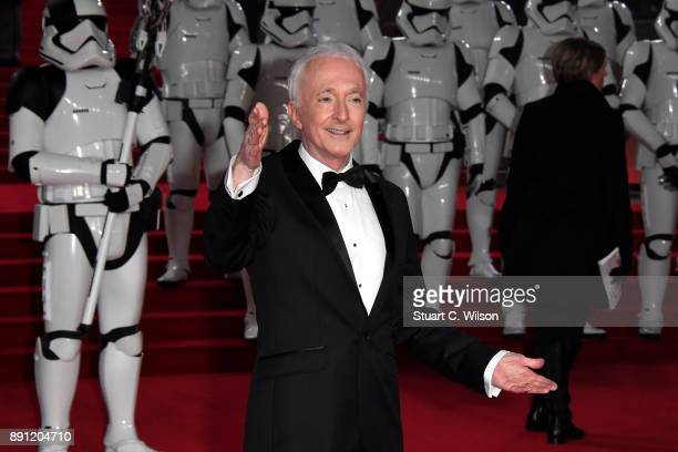 Actor Anthony Daniels attends the European Premiere of 'Star Wars The Last Jedi' at Royal Albert Hall on December 12 2017 in London England