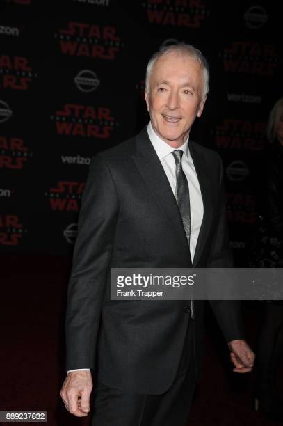 Actor Anthony Daniels attends the premiere of Disney Pictures and Lucasfilm's 'Star Wars The Last Jedi' held at The Shrine Auditorium on December 9...
