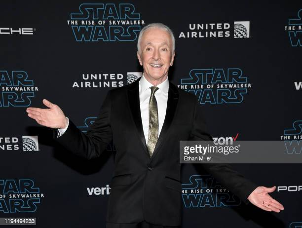 Actor Anthony Daniels attends the premiere of Disney's Star Wars The Rise of Skywalker on December 16 2019 in Hollywood California
