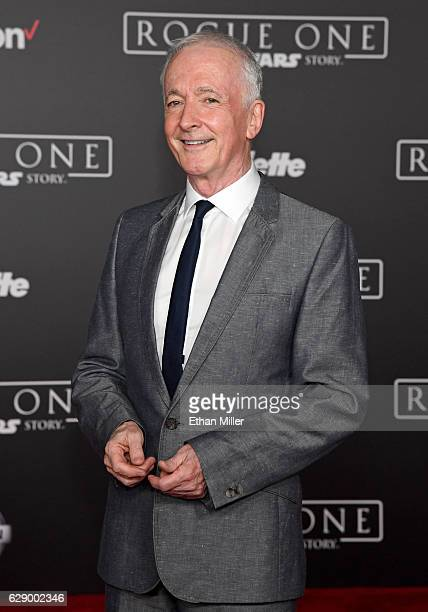 Actor Anthony Daniels attends the premiere of Walt Disney Pictures and Lucasfilm's 'Rogue One A Star Wars Story' at the Pantages Theatre on December...