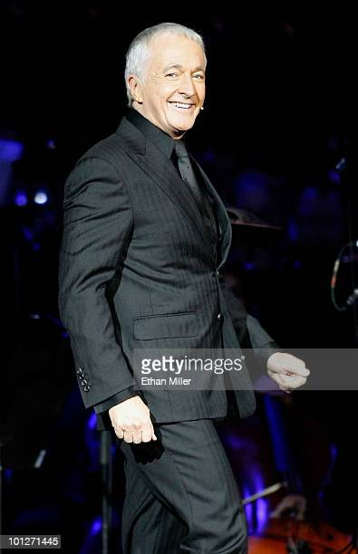 Actor Anthony Daniels who played the character C3PO in the Star Wars series of films narrates during Star Wars In Concert at the Orleans Arena May 29...