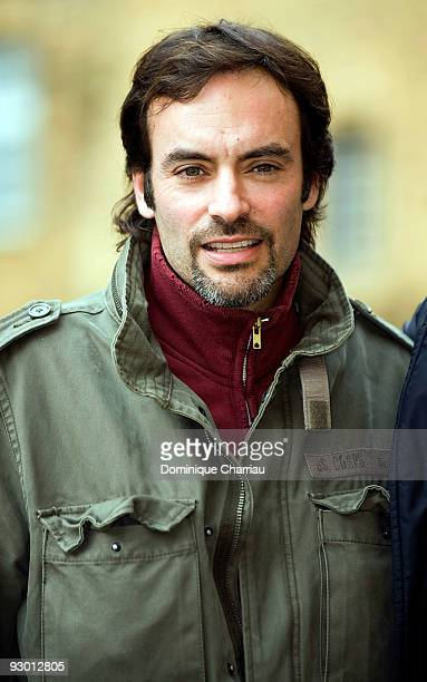 Actor Anthony Delon attends a photocall for the movie Mensch during the Sarlat Film Festival on November 12 2009 in SarlatlaCaneda France