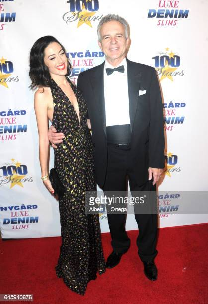Actor Anthony Denison and guest arrive for the Norby Walters' 27th Annual Night Of 100 Stars Black Tie Dinner Viewing Gala held at The Beverly Hilton...