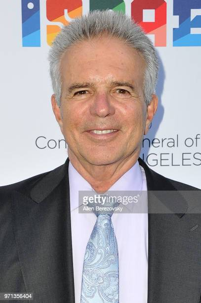 Actor Anthony Denison attends a private celebration of The 70th Anniversary of Israel hosted by the Consul General of Israel Los Angeles Sam...