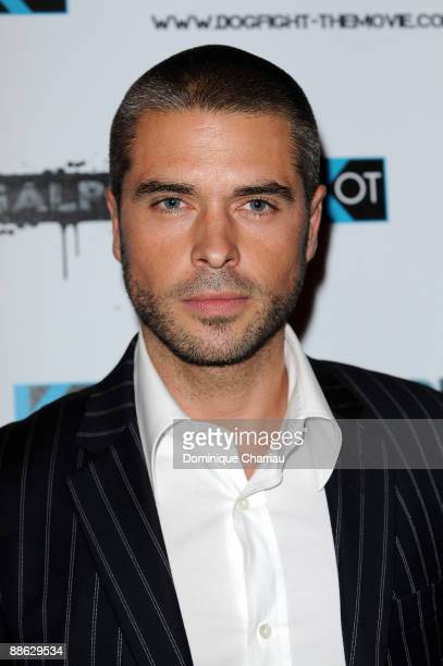 Actor Anthony Dupray attends 'Dogfight' Paris Premiere at Cinema Gaumont Marignan on June 22 2009 in Paris France