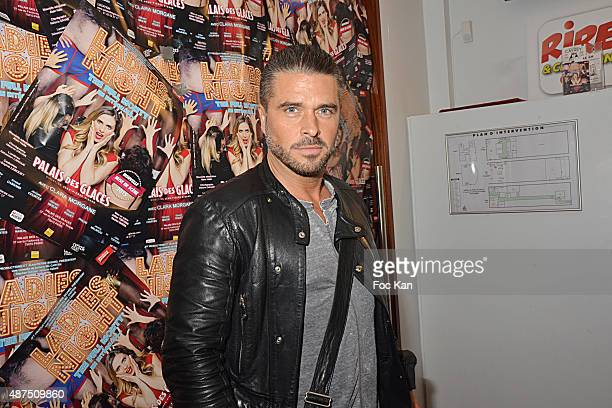 Actor Anthony Dupray attends the 'Ladies Night' Generale at the Palais des Glaces on September 9on September 9 2015 in Paris France