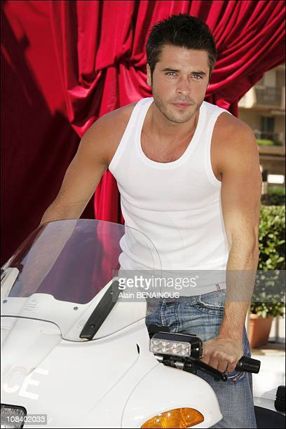 Actor Anthony Dupray in Monaco on July 01 2005