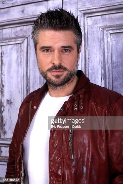 Actor Anthony Dupray poses during a portrait session in Paris France on November 17 2016