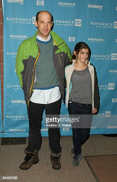 """Actor Anthony Edwards and daughter Esme attend the premiere of """"Motherhood"""" held at Eccles Theatre during the 2009 Sundance Film Festival on January..."""