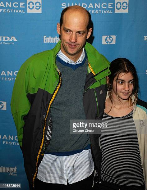 Actor Anthony Edwards and daughter Esme Edwards attend the premiere of 'Motherhood' during the 2009 Sundance Film Festival at Eccles Theatre on...