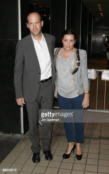 Actor Anthony Edwards and guest attend the premiere of 'Solitary Man' at Cinema 2 on May 11 2010 in New York City
