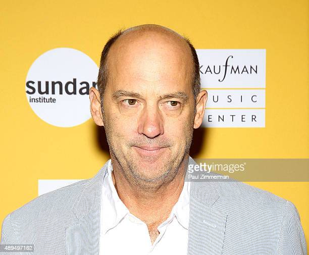 Actor Anthony Edwards attends Carol Burnett's play 'Hollywood Arms' back onstage after 15 years' at Kaufman Music Center's Merkin Concert Hall on...