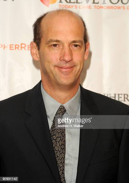 """Actor Anthony Edwards attends the Christopher & Dana Reeve Foundation 19th Annual """"A Magical Evening"""" Gala at the Marriott Marquis on November 9,..."""