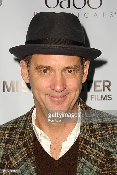 """Actor Anthony Edwards attends the """"Consumed"""" New York Premiere at AMC Loews 19th Street Theater on November 18, 2015 in New York City."""