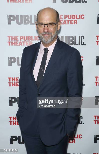 Actor Anthony Edwards attends the 'Girl From The North Country' opening night at The Public Theater on October 1 2018 in New York City