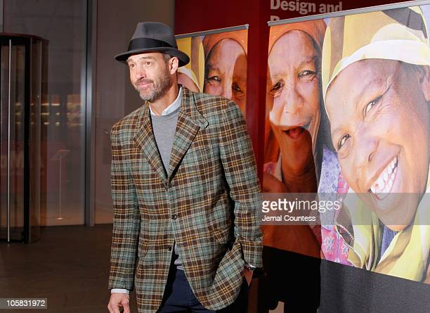 """Actor Anthony Edwards attends the global launch of """"1.4 Billion Reasons"""" on DVD at The Museum of Modern Art on October 20, 2010 in New York City."""