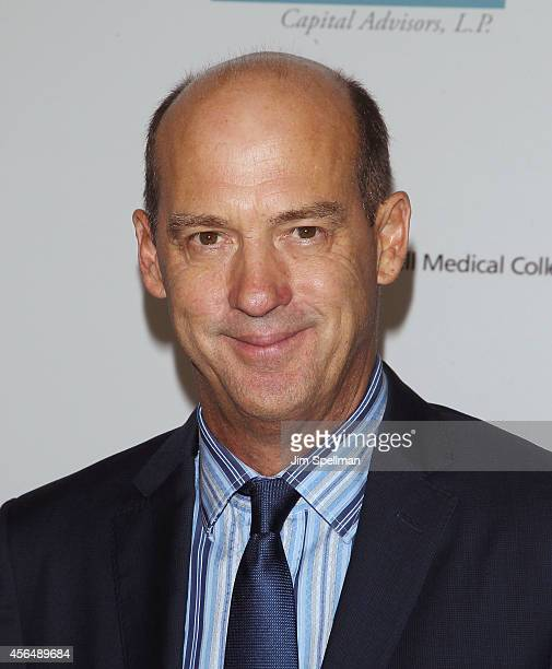 """Actor Anthony Edwards attends The Headstrong Project """"Words Of War"""" Benefit at Tribeca 360 on October 1, 2014 in New York City."""