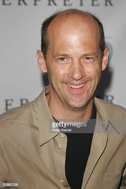 Actor Anthony Edwards attends 'The Interpreter' premiere at the Ziegfeld Theatre April 19 2005 in New York City