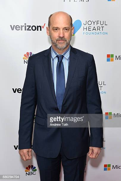 Actor Anthony Edwards attends the Joyful Heart Foundation honors Vice President Joe Biden at Joyful Revolution Gala on May 10 2016 in New York New...