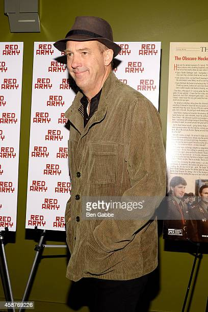 """Actor Anthony Edwards attends the """"Red Army"""" New York Screening at Sunshine Landmark on November 10, 2014 in New York City."""