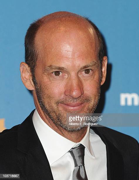 Actor Anthony Edwards poses in the press room at the 62nd Annual Primetime Emmy Awards held at the JW Marriott Los Angeles at LA Live on August 29...