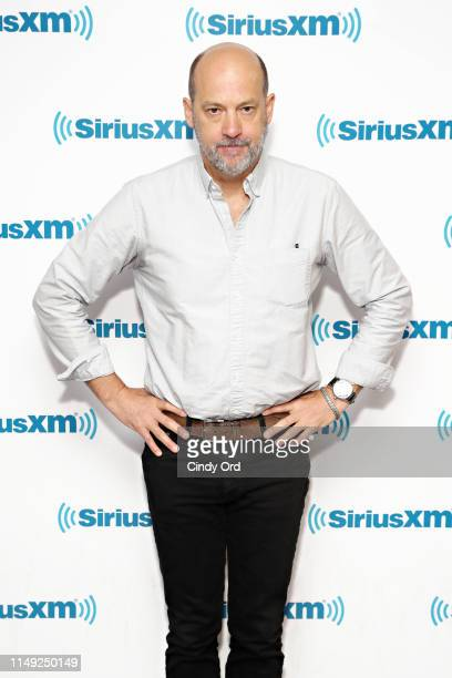 Actor Anthony Edwards visits the SiriusXM Studios on June 11, 2019 in New York City.