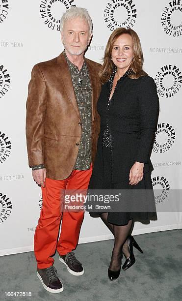 Actor Anthony Geary and actress Genie Francis attend The Paley Center for Media Presents 'General Hospital Celebrating 50 years and Looking Forward'...