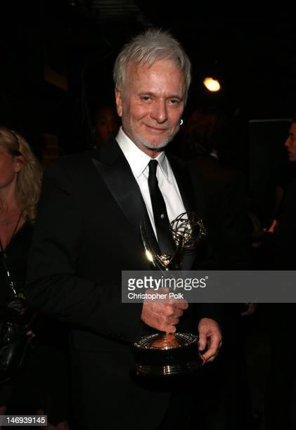 Actor Anthony Geary attends The 39th Annual Daytime Emmy Awards broadcasted on HLN held at The Beverly Hilton Hotel on June 23 2012 in Beverly Hills...