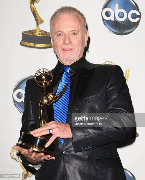 Actor Anthony Geary in the press room at The 35th Annual Daytime Emmy Awards at the Kodak Theatre on June 20 2008 in Los Angeles California