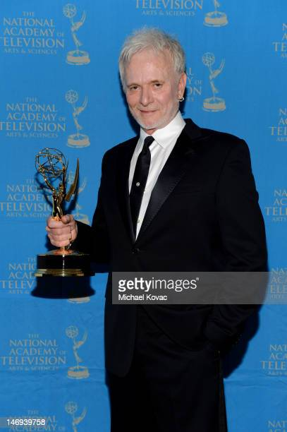 Actor Anthony Geary poses during The 39th Annual Daytime Emmy Awards broadcasted on HLN held at The Beverly Hilton Hotel on June 23 2012 in Beverly...