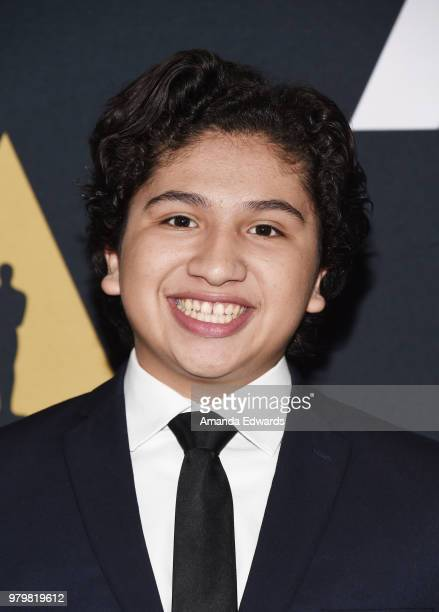 """Actor Anthony Gonzales arrives at The Academy Of Motion Picture Arts And Sciences presentation of """"The Sherman Brothers: A Hollywood Songbook"""" at the..."""