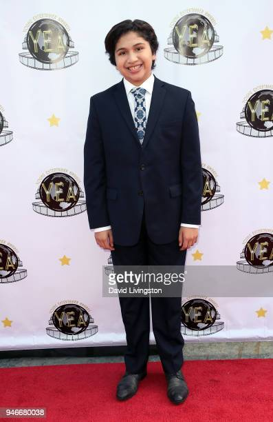 Actor Anthony Gonzalez attends the 3rd Annual Young Entertainer Awards at The Globe Theatre on April 15 2018 in Universal City California