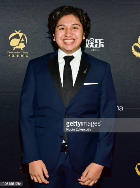 Actor Anthony Gonzalez attends the Chinese American Film Festival Opening Ceremony and Golden Angel Awards Ceremony at The Ricardo Montalban Theatre...