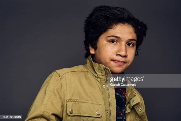 Actor Anthony Gonzalez from the film 'Icebox' poses for a portrait during the 2018 Toronto International Film Festival at Intercontinental Hotel on...