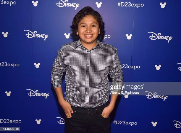 Actor Anthony Gonzalez of COCO took part today in the Walt Disney Studios animation presentation at Disney's D23 EXPO 2017 in Anaheim Calif COCO will...
