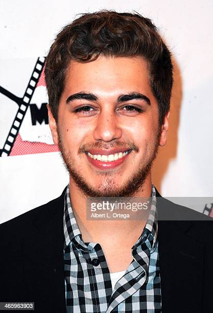 Actor Anthony Guajardo attends the ShockFest Film Festival Awards held at Raleigh Studios on January 11 2014 in Los Angeles California