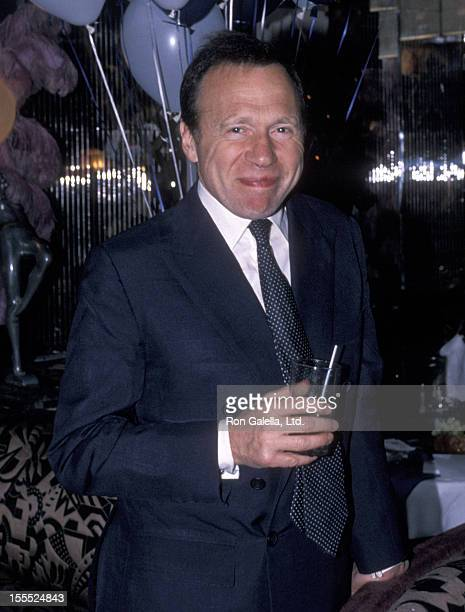 Actor Anthony HadenGuest attends Evening in St Tropez Gala on August 10 1989 at Regine's in New York City