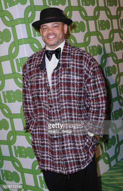 Actor Anthony Hemingway arrives for the HBO's Official Golden Globe Awards After Party held at Circa 55 Restaurant on January 6 2019 in Los Angeles...